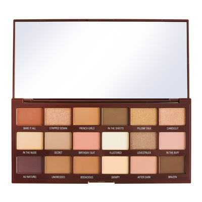 Eyeshadow Palette I HEART REVOLUTION Chocolate Nudes 22g