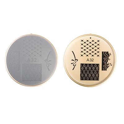 Šablon silikonski za Nail Art A32