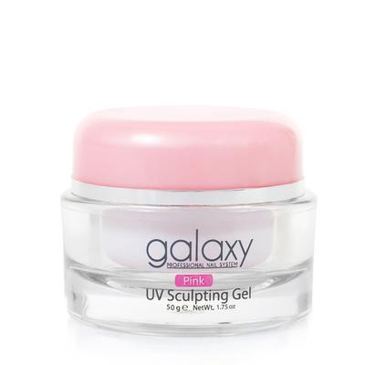 Gradivni gel za nadogradnju noktiju 3u1 GALAXY Pink 50g