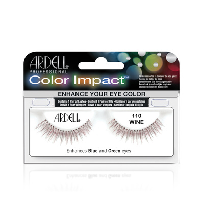 Color Strip Lashes  ARDELL 110 Wine