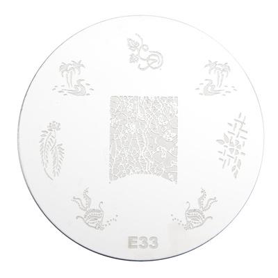 Stamping Disc Stencil PMEO1 E33