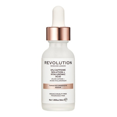 Targeted Under Eye Serum REVOLUTION SKINCARE 5% Caffeine Solution and Hyaluronic Acid 30ml