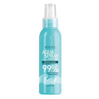 Aqua Spray for Face and Body with Kelp Extract REVUELE Revitalising 200ml