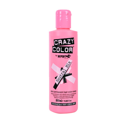 Korektor za polutrajne farbe za kosu CRAZY COLOR Neutral Mix 250ml