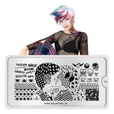 Šablon za pečate MOYOU Punk 10