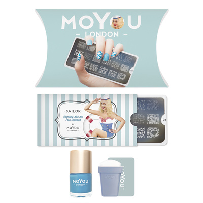 Stamping set MOYOU Sailor