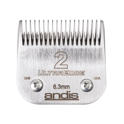 Spare Blade For Hair Clippers Andis Ultra Edge Size 2 - 6.3 mm