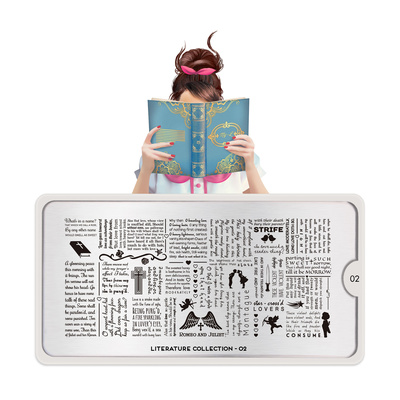 Šablon za pečate MOYOU Literature 02