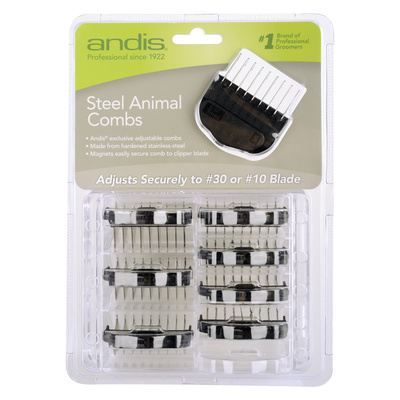 Spare Metal Combs For Hair Clippers Andis Animal 10/1