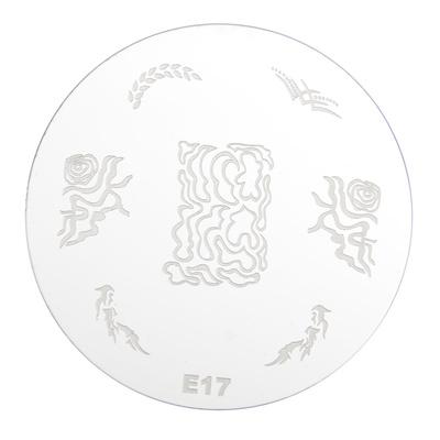 Stamping Disc Stencil PMEO1 E17