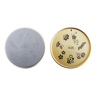 Šablon silikonski za Nail Art A25