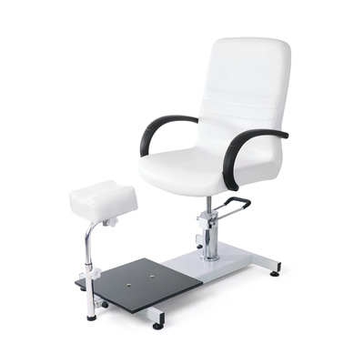 Pedikir radna stolica sa hidraulikom DP 5710 sa podesivim držačem nogu