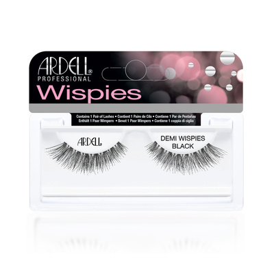 Strip Eyelashes ARDELL Demi Wispies Black