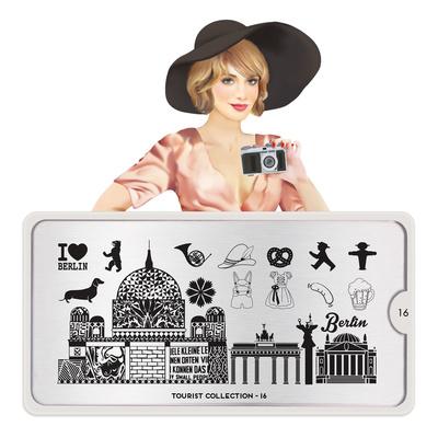 Stamping Nail Art Image Plate MOYOU Tourist 16