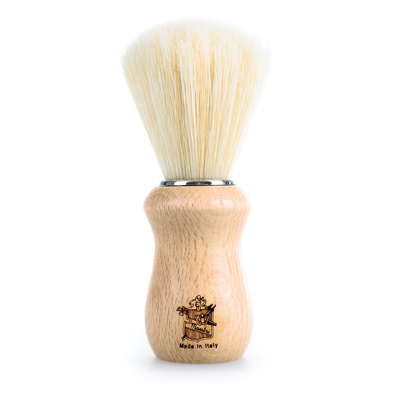 Shave Brush 3ME Wooden Handle BL01