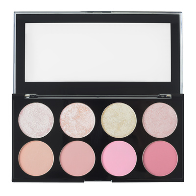 Paleta rumenila i hajlajtera REVOLUTION MAKEUP Ultra Blush Goddess 13g