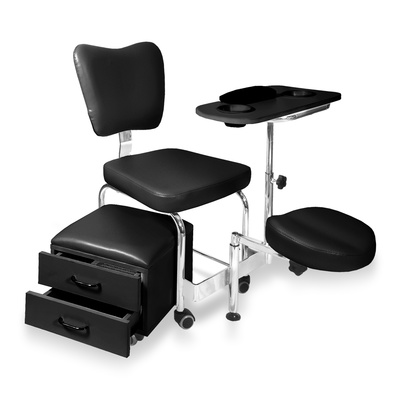 Chair for manicure and pedicure DP 3506 multifunctional and adjustable