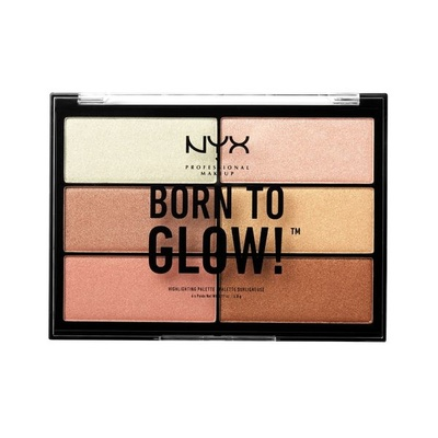 Born To Glow Highlighing Palette NYX Professional Makeup BTGHP01 6x4.8g