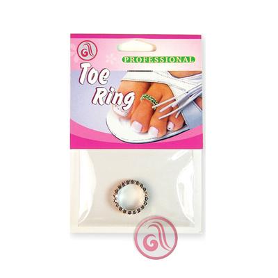 Prsten za nožni prst dvostruki  DR11 Transparentni