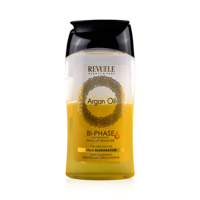 Waterproof Makeup Remover REVUELE Argan Oil Bi-Phase 150ml