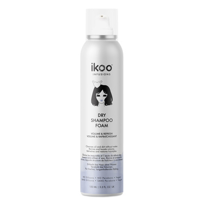 Dry Shampoo Foam Sulfate Free IKOO Infusions Color Volume & Refresh 150ml