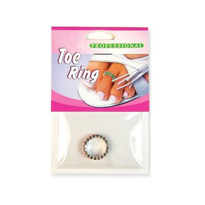 Prsten za nožni prst dvostruki DR13 Crni