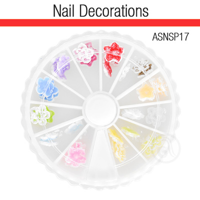 Ukrasi za Nail Art 3D cveće ASNSP17