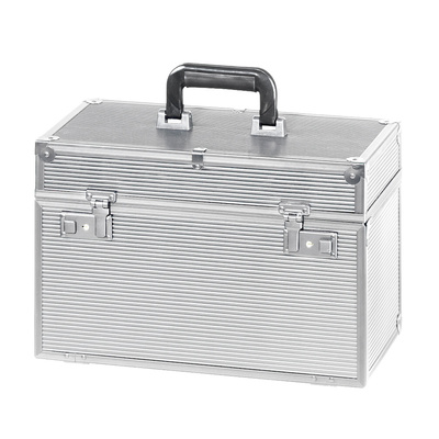 Alu Case For Hair Tools COMAIR Meister Silver 41x22x27cm