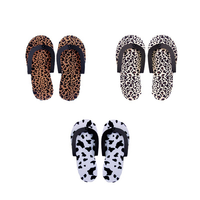 Pedicure Slippers with Print 2/1