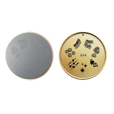 Šablon silikonski za Nail Art A14