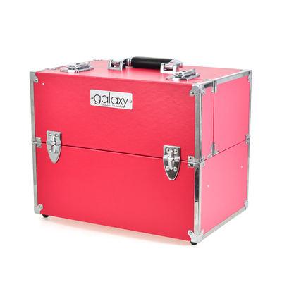 Makeup, Cosmetics and Tool Case GALAXY Coral Smooth TC-1441PS