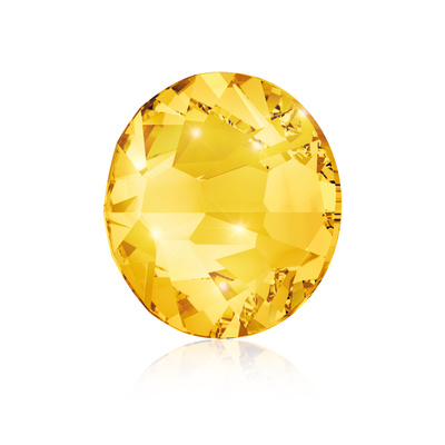 Kristali za nokte SWAROVSKI A 2058 Xilion Rose Enhanced  SS9 Light Topaz 40/1