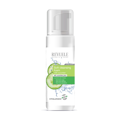 Soft Cleansing Foam with Cucumber REVUELE Dr. Richards 150ml