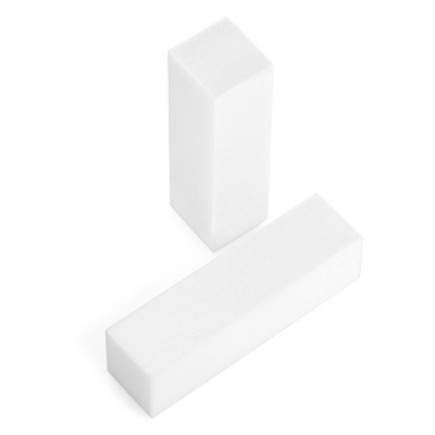 Block Nail File B2 White 100#