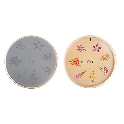 Šablon silikonski za Nail Art F13