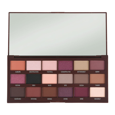 Pigment Palette I HEART REVOLUTION Cranberries & Chocolate 18g