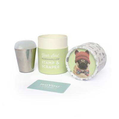 Pečat i grebač XL MOYOU Marshmallow Transparent