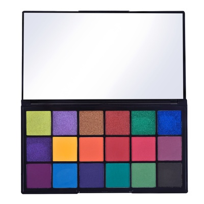 Eyeshadow and Pigment Palette REVOLUTION MAKEUP Tammi Tropical Carnival 18g