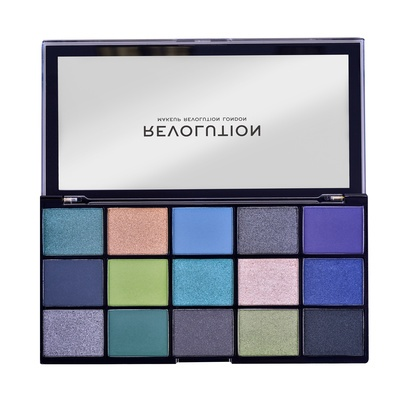 Paleta senki za oči REVOLUTION MAKEUP Reloaded Deep Dive 16.5g