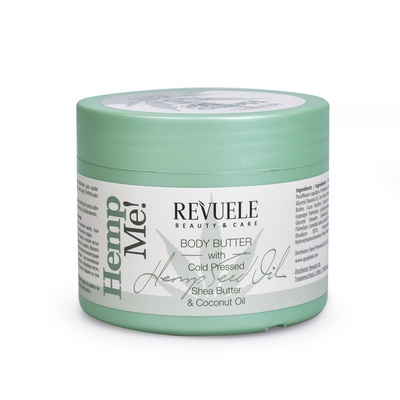 Puter za telo REVUELE Body Butter Hemp Me! 300ml