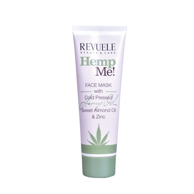 Maska za hidrataciju kože lica REVUELE Hemp Me! 80ml