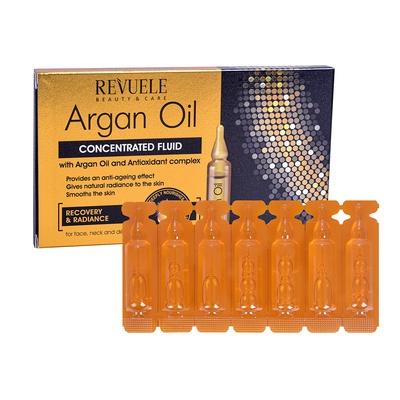 Serum za zatezanje kože lica REVUELE Argan 7x2ml