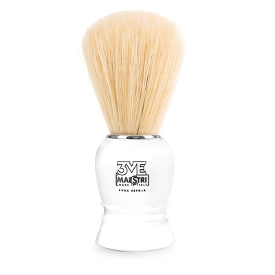 Shave Brush 3ME White