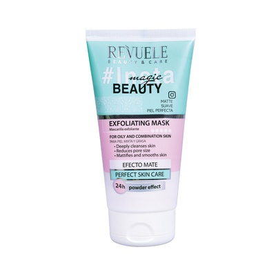 Exfoliating Mask for Oil & Combination Skin REVUELE Insta Magic Beauty 150ml