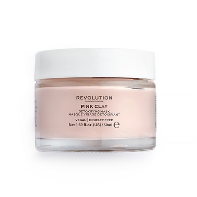 Detoxifying Face Mask REVOLUTION SKINCARE Pink Clay 50ml