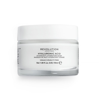 Overnight Hydrating Face Mask REVOLUTION SKINCARE Hyaluronic Acid 50ml