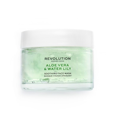 Soothing Face Mask REVOLUTION SKINCARE Aloe Vera & Water Lily 50ml