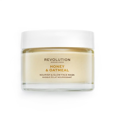 Nourish & Glow Face Mask REVOLUTION SKINCARE Honey & Oatmeal 50ml