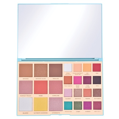 Face and Eyeshadow Palette Revolution MAKEUP X Rachel Leary Ultimate Goddess 35.3g