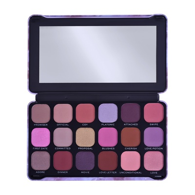 Paleta senki i pigmenata REVOLUTION MAKEUP Forever Flawless Unconditional Love 19.8g